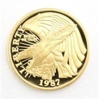 アメリカ 憲法起草200年 5ドル コイン 金貨 K21.6YG 総重量約8.3g